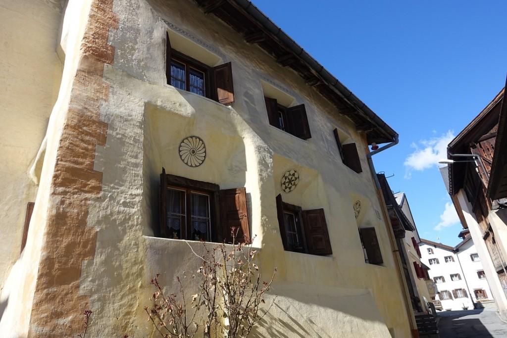дом с окнами