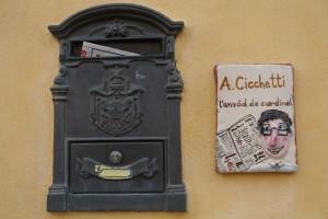 адрес табличка
